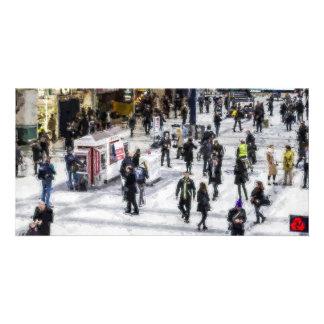 Arte del viajero de Londres Tarjeta Fotografica