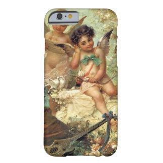 Arte del Victorian, ángeles del músico de Hans Funda Para iPhone 6 Barely There