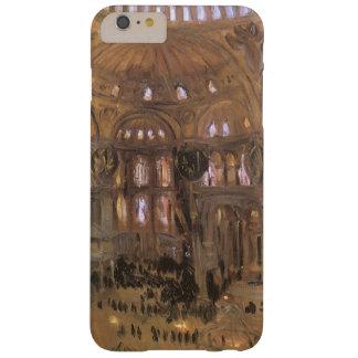 Arte del Victorian, bosquejo de Santa Sophia por Funda Barely There iPhone 6 Plus