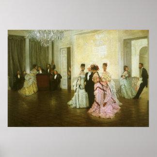 Arte del Victorian del vintage, demasiado temprano