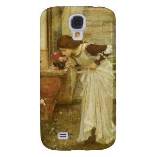 Arte del Victorian del vintage, la capilla por el Funda Para Galaxy S4