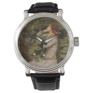 Arte del Victorian, Ofelia por la charca por el Reloj
