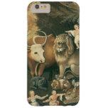 Arte del Victorian, reino apacible por los catetos Funda De iPhone 6 Plus Barely There