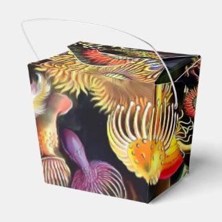 Arte del vintage de las anémonas de mar de Ernst Cajas Para Regalos