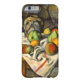 Arte del vintage de Paille del florero de Cezanne Funda De iPhone 6 Barely There