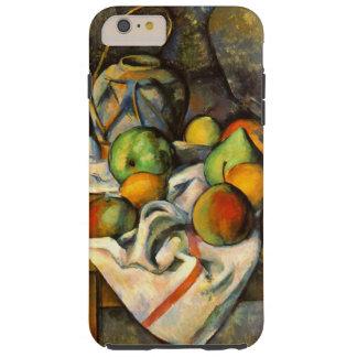 Arte del vintage de Paille del florero de Cezanne Funda De iPhone 6 Plus Tough