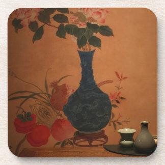 Arte del vintage de Taiwán Posavasos