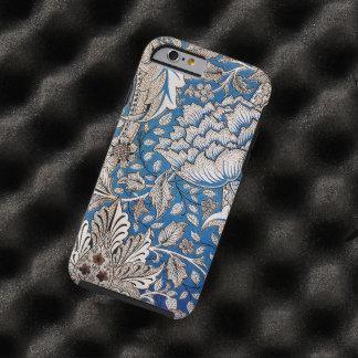Arte del vintage del diseño del papel pintado funda de iPhone 6 tough