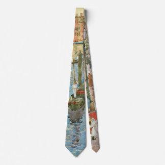 Arte del vintage, Gran Canal, Venecia por Corbata Personalizada