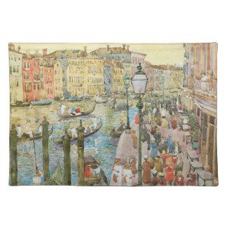 Arte del vintage, Gran Canal, Venecia por Manteles