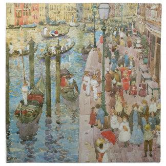Arte del vintage, Gran Canal, Venecia por Servilletas
