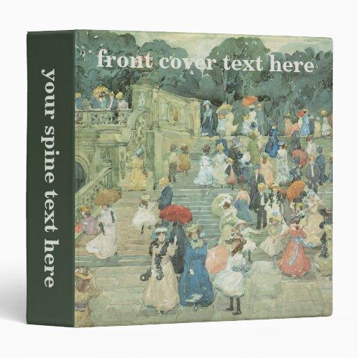 """Arte del vintage, la alameda, Central Park por Carpeta 1 1/2"""""""
