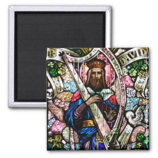 Arte del vitral de rey David Imán Cuadrado
