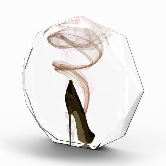 Arte del zapato del estilete de Smokin