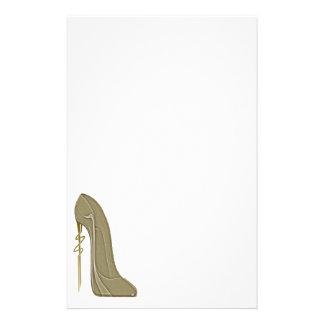 Arte del zapato del estilete del estilo de Steampu Papelería De Diseño
