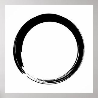 Arte del zen póster