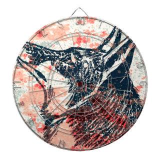 arte del zorro tablero de dardos
