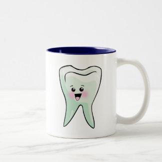 Arte dental del diente de Kawaii Tazas