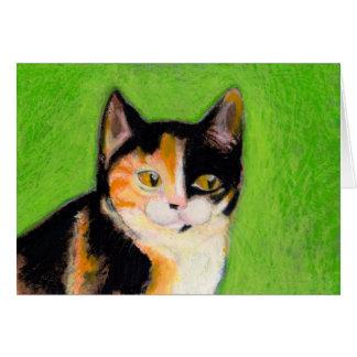 Arte diario 2/5/09 - los gatitos no pueden tarjeta de felicitación
