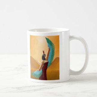 Arte digital de la diosa pagana egipcia de la tazas
