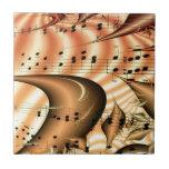 Arte Digital del destino del mundo de las notas de Azulejos Ceramicos