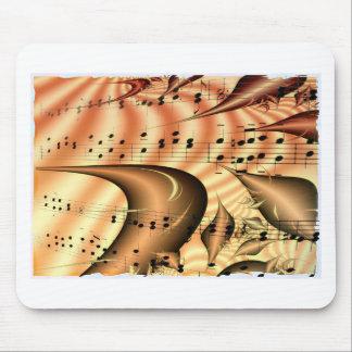 Arte Digital del destino del mundo de las notas de Tapete De Ratón