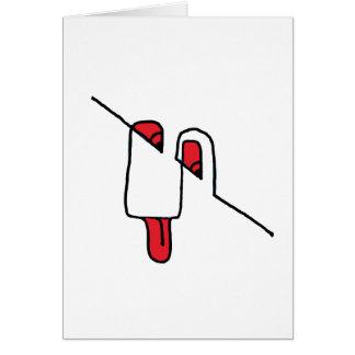 arte ditial 01 sonrientes tarjeta de felicitación