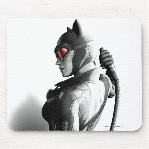 Arte dominante del Catwoman Alfombrilla De Raton