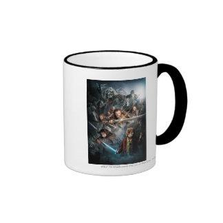 Arte dominante tazas de café