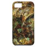 Arte dulce del fractal del extracto del otoño iPhone 5 carcasa