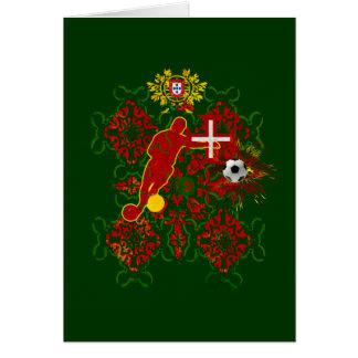 Arte e Futebol encontra - Futebol Português Card