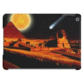 Arte egipcio antiguo de la pirámide, de Sun, de la Funda Para iPad Air
