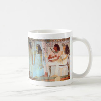Arte egipcio antiguo taza de café