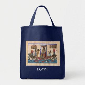 Arte egipcio bolsa tela para la compra