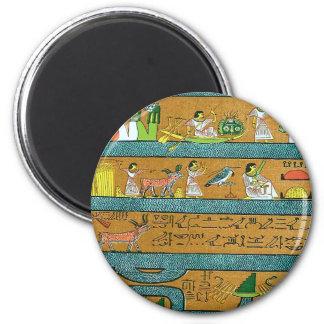 Arte egipcio de la pared imanes