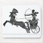 ¡Arte egipcio Mousepad del vintage de rey Ramesses