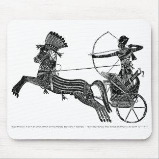 ¡Arte egipcio Mousepad del vintage de rey Ramesses Tapete De Raton
