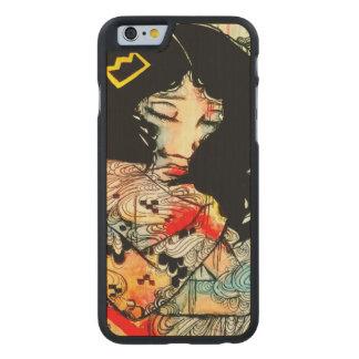 Arte emocional, caso bajo del arte iPhone6 del Funda De iPhone 6 Carved® Slim De Arce