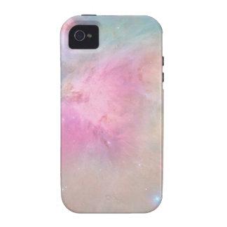 Arte en colores pastel del espacio de BabyGalaxy Case-Mate iPhone 4 Carcasa