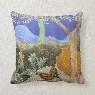 Arte en un árbol de la almohada de la vida