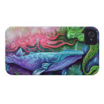 Arte encantado del océano Case-Mate iPhone 4 protector
