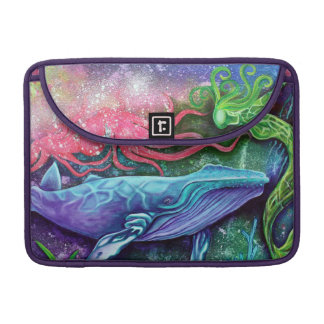 Arte encantado del océano funda para macbook pro
