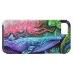 Arte encantado del océano iPhone 5 protector