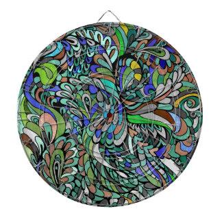 Arte enrrollado multicolor de Paisley del pavo