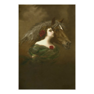 Arte equino europeo 1 de la foto posters