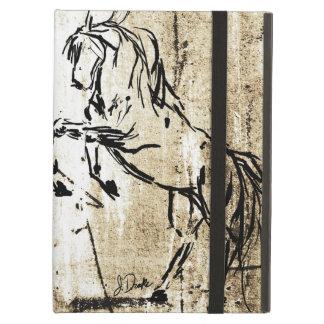 Arte equino que alza caballos