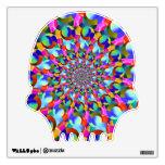 Arte espiral del fractal del arco iris