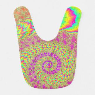 Arte espiral infinito psicodélico brillante del fr baberos