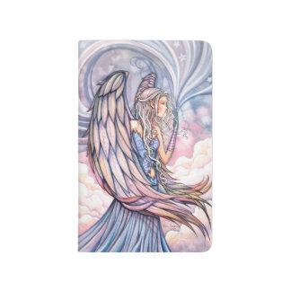Arte espiritual de la fantasía del ángel cuadernos