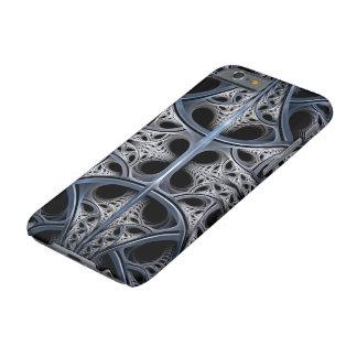 Arte esquelético del fractal de Pasillo Funda De iPhone 6 Barely There